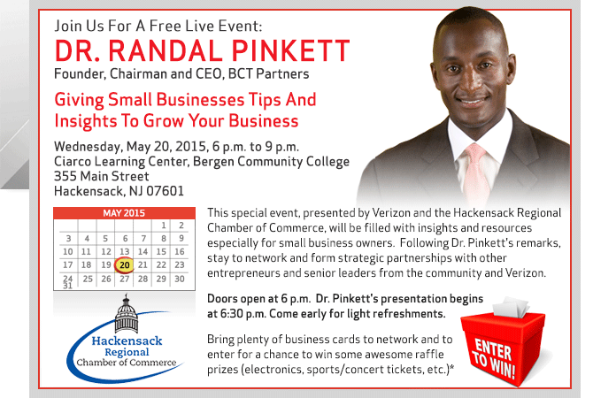 Register now for this Free Event with Dr. Randal Pinkett